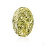 2 CT Natural Loose Diamond GIA Certified Oval Cut Fancy Light Yellow VS2 Clarity