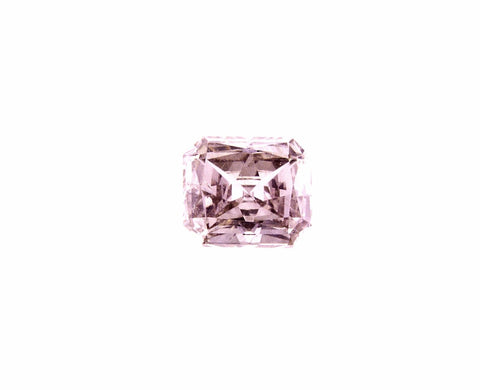 GIA Certified Natural Rare FANCY PINK Color Radiant Loose Diamond 0.31 Carats I1