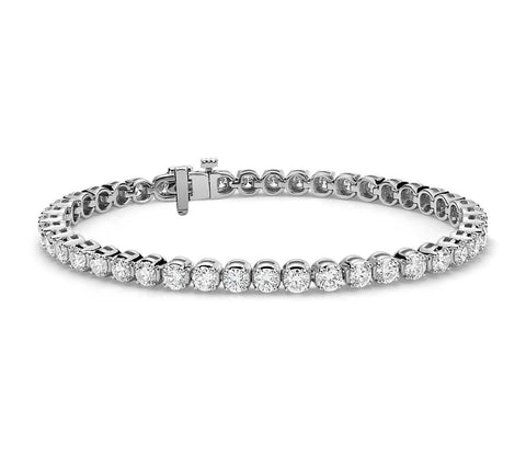 Diamond Tennis Bracelet in 14k White Gold (7 ct. tw.