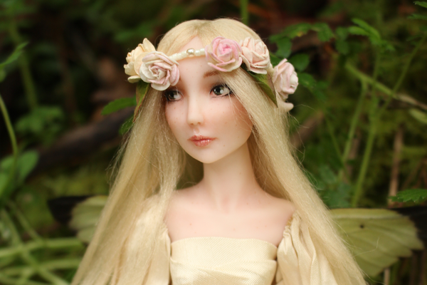 Forest faerie doll