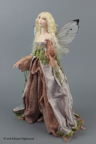 One of a kind Fairy art doll