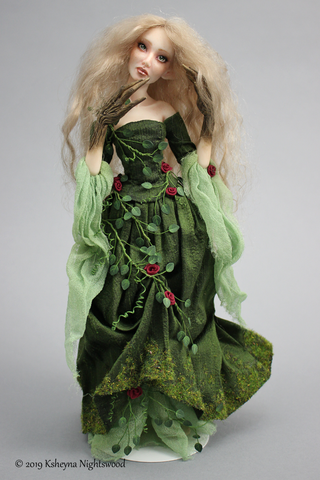 OOAK dryad nymph art doll