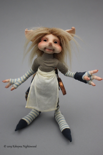 Carlden - OOAK Brownie Art Doll