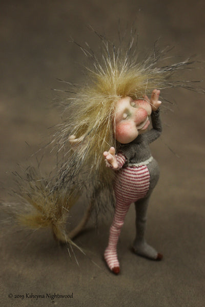 Nib - OOAK Brownie Art Doll