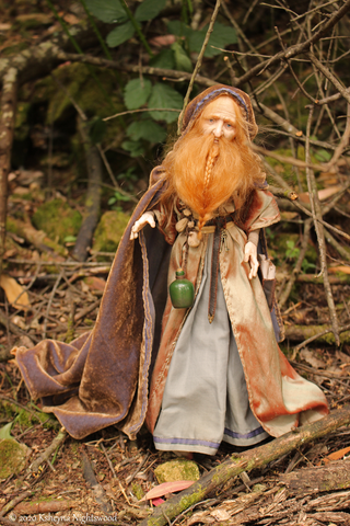 OOAK Art Doll The Alchemist