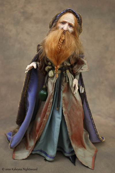 The Alchemist - OOAK Art Doll