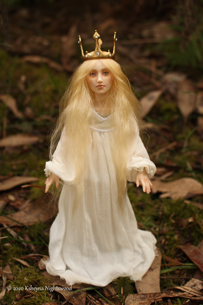 The Princess - OOAK Fairy Tale Art Doll