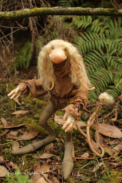 Big Brother Troll - OOAK Troll Art Doll