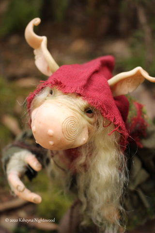 Middle Brother Troll - OOAK Troll Art Doll