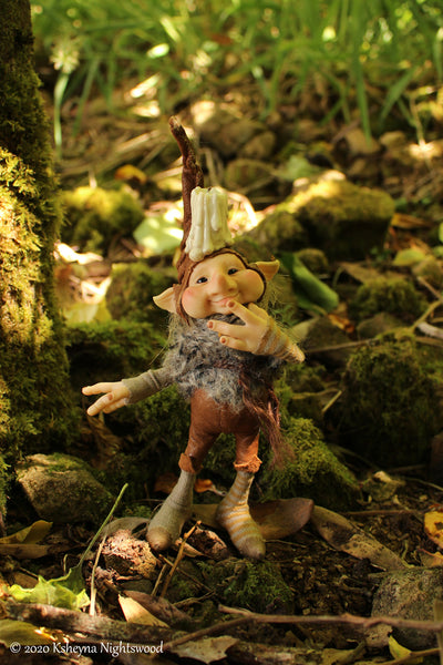 Bug - OOAK Kobold Art Doll