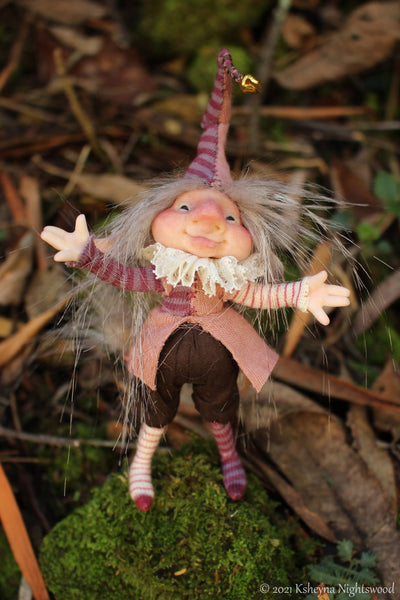 Pock - OOAK Brownie Art Doll