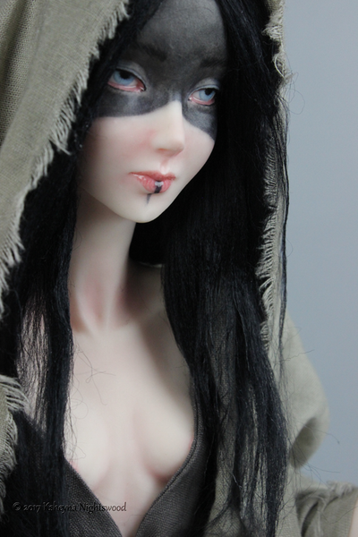 Norn - OOAK Fantasy Art Doll Sculpture