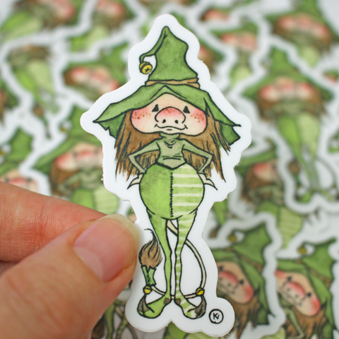 Brownie Mage - Vinyl Sticker