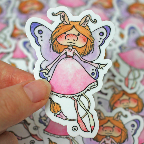 Brownie Fae - Vinyl Sticker
