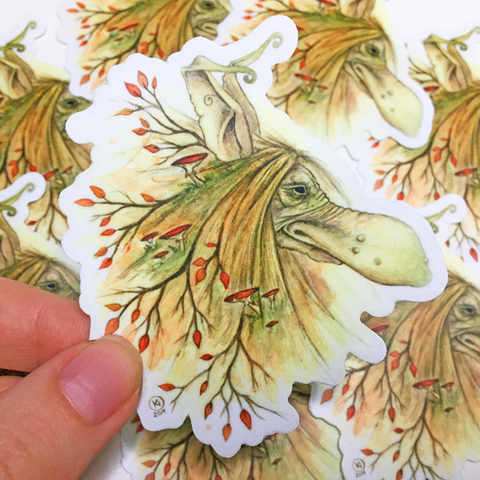 Troll Autumn - Vinyl Sticker