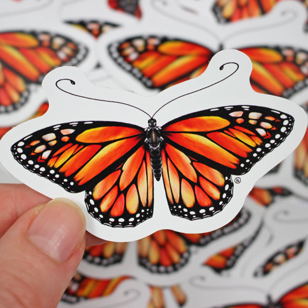 Monarch Butterfly - Vinyl Sticker