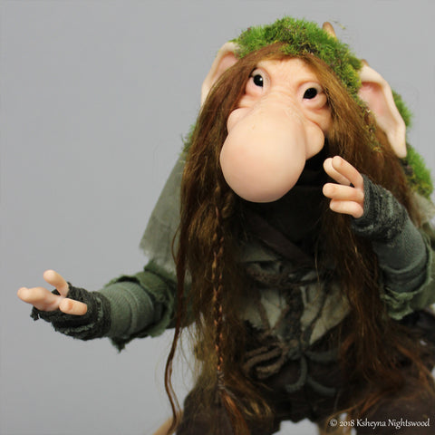 Miremoor - OOAK Troll Art Doll