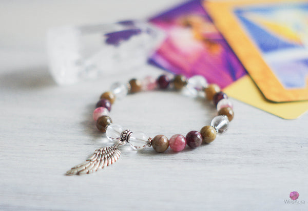 Archangel Metatron Gemstone Bracelet