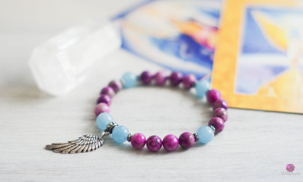 Archangel Michael Gemstone Bracelet