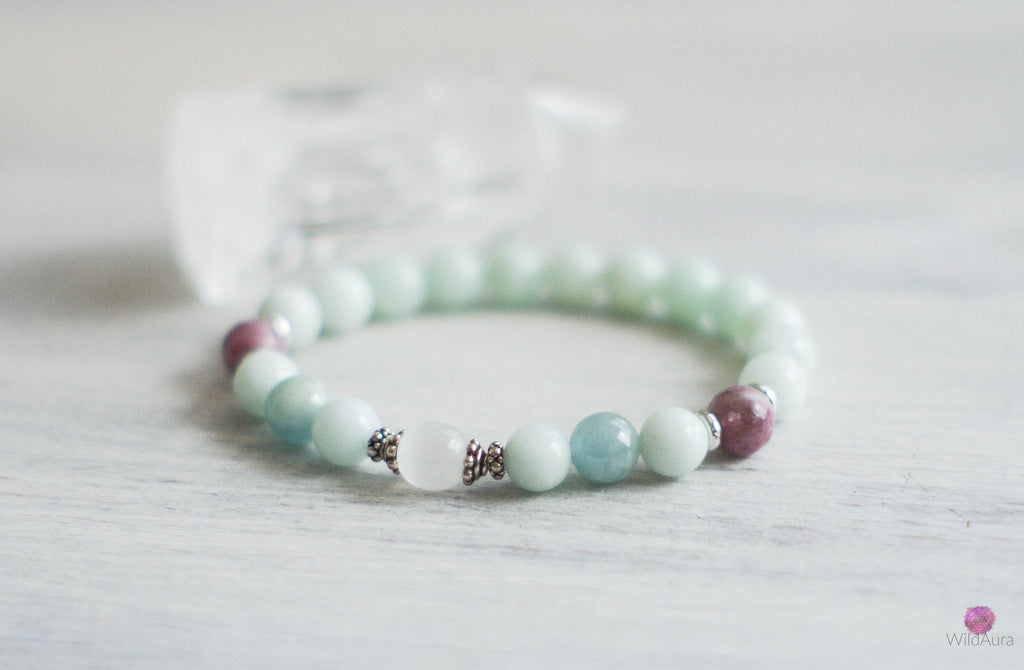 Selenite Gemstone Bracelet