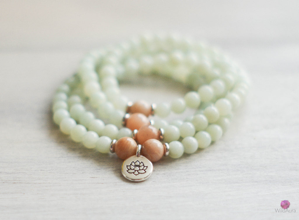 CREATIVITY Amazonite 108 Mala