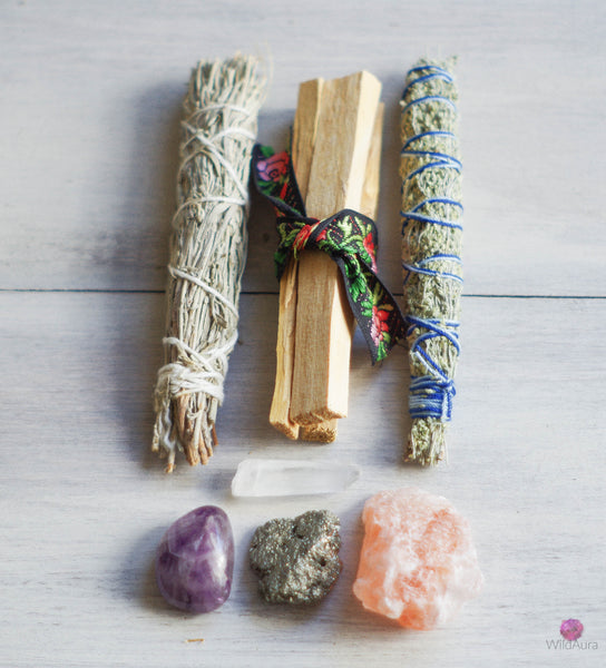 Energy Cleansing and Aura Protection Kit