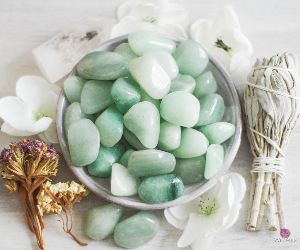 Green Aventurine - Prosperity, Friendship