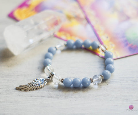 Guardian Angel Gemstone Bracelet