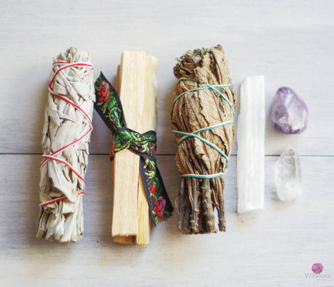 Energy Cleansing Smudge Kit