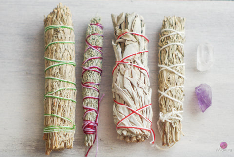 Sage Bundle Smudge Kit