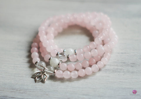 LOVE Rose Quartz 108 Mala