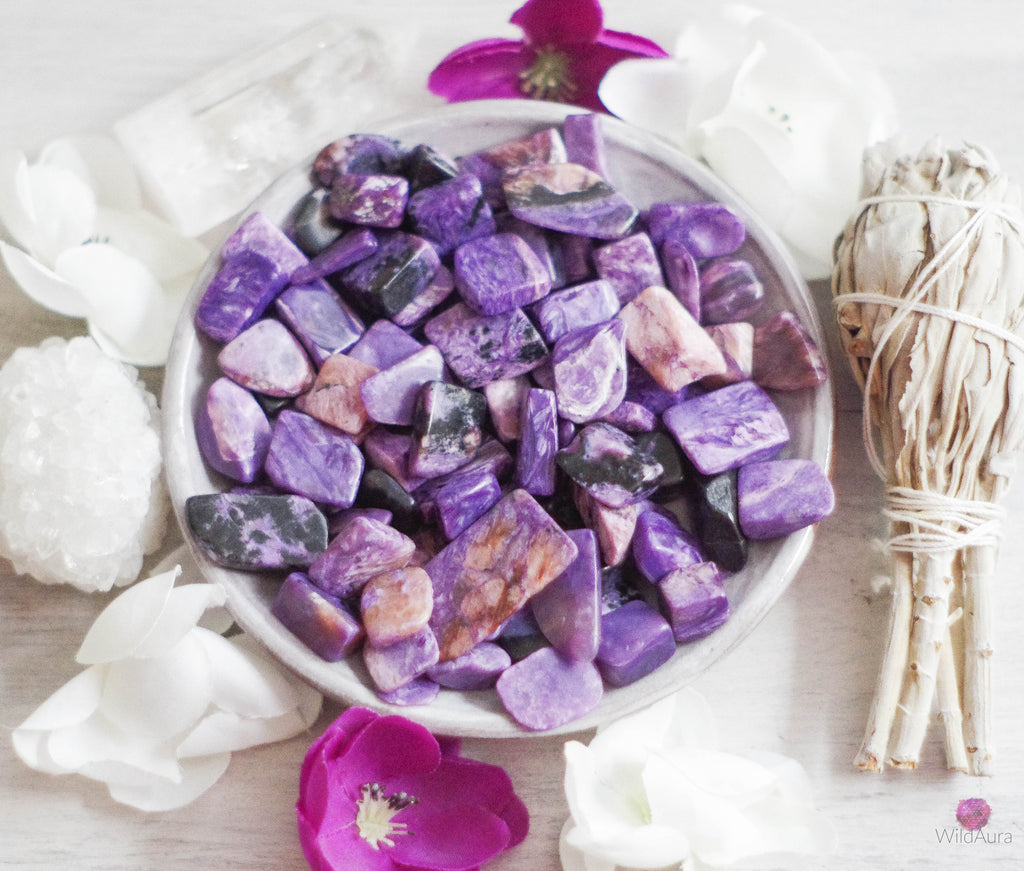Charoite - Release Fears, Emotional Healing