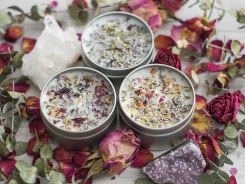 Intention Candles - 6 oz size
