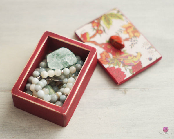 Red Jasper Keepsake Box