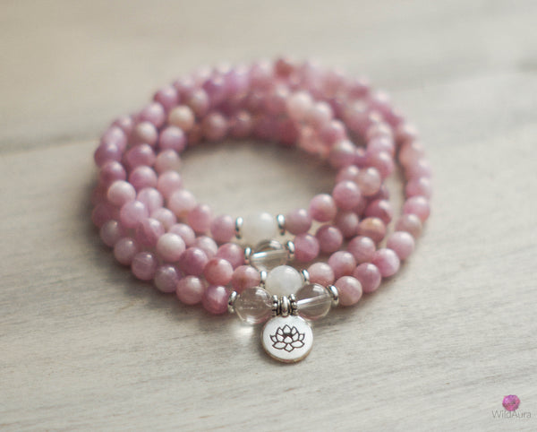 JOYFUL NATURE - Kunzite 108 Mala