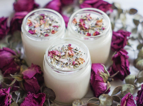 Scented Intention Candles - 9 oz