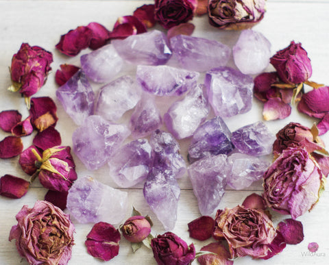 Amethyst Point - Calm, Intuition, Balance
