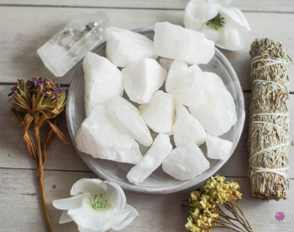 White Quartz - Balance, Cleansing, Energize