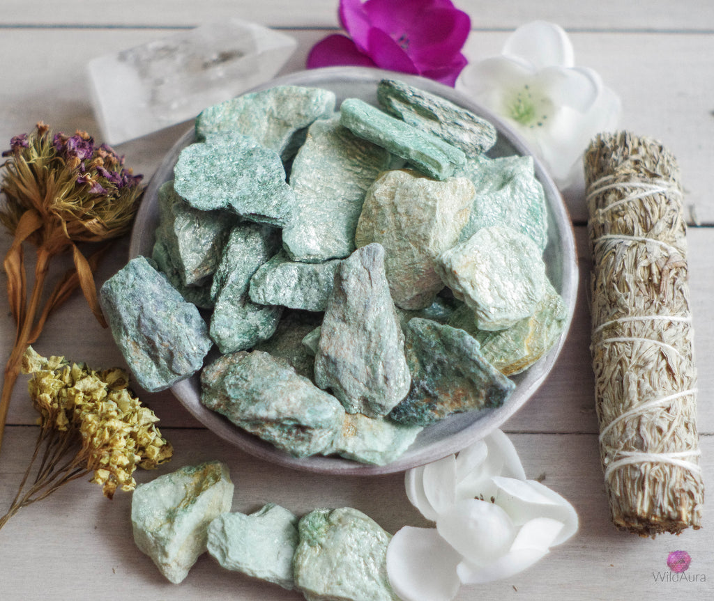 Fuchsite - Inspiration, Intuition