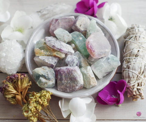 Fluorite - Grounding, Intuition