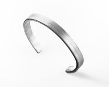 Load image into Gallery viewer, Sterling Silver Cuff Bracelet Pulse Collection