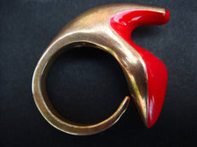 Load image into Gallery viewer, Inspirations Shoe Ring (Inspired by Elsa Schiaparelli's Shoe Hat)