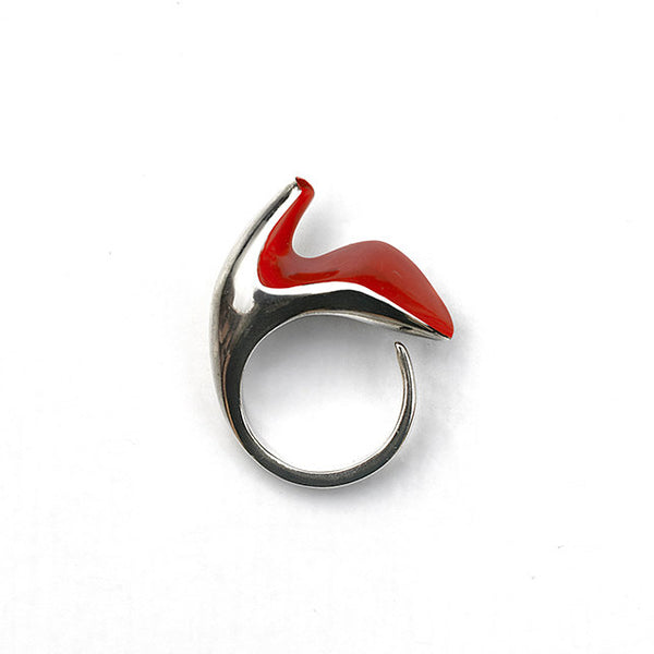 Inspirations Shoe Ring (Inspired by Elsa Schiaparelli's Shoe Hat)