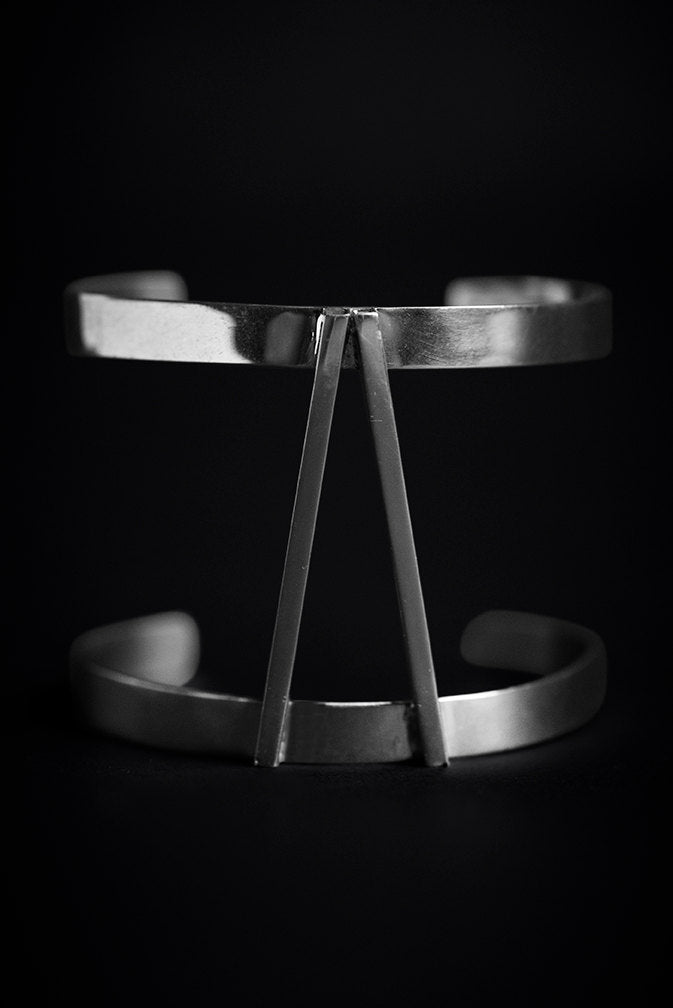 Arm double Band in Sterling Silver - Nicolas Ambrosio