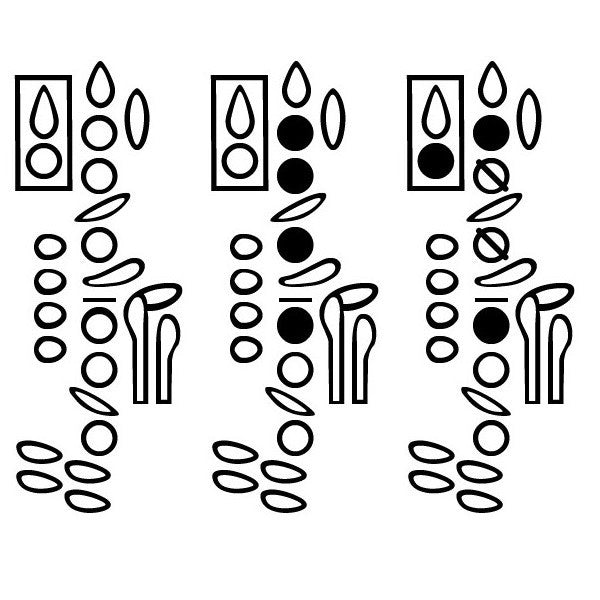 Clarinet Fingering Diagram Font