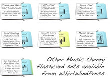 Tenor Clef Flashcards