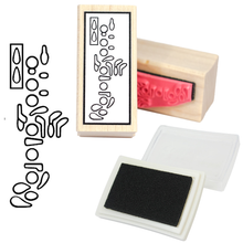 Oboe Fingering Rubber Stamp