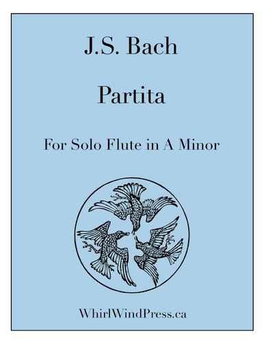 J.S. Bach - Partita for Solo flute in A minor - BWV 1013 - URTEXT