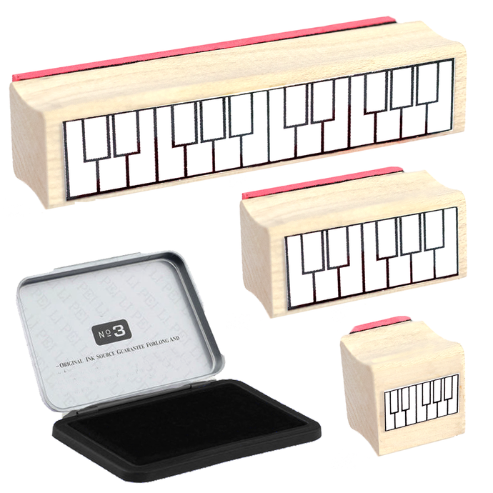 Piano Teacher Rubber Stamp Gift Pack