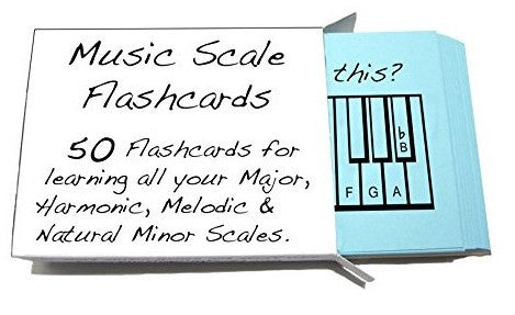 Music Scale Flashcards